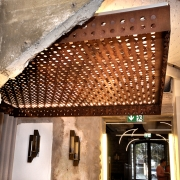 Metallis ripplagi_Ceiling design