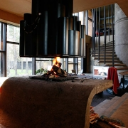 eramu avatud kamin Tallinnas, Nõmmel / Open fireplace of a private house in Nõmme, Tallinn