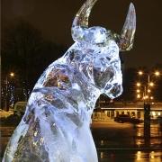 Jääskulptuurid autor Kalle Pruuden / Ice sculptures, author Kalle Pruuden