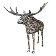 Skulptuur Põder otsevaates_Moose in direct view