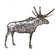 Skulptuur Põder külgvaates_Side view of a Moose