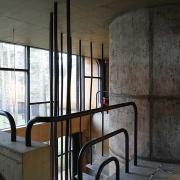 eramu trepi-piire Tallinnas Nõmmel / Staircase banister of a private house in Nõmme, Tallinn