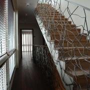 eramu trepi-piire Tallinnas Merirahus / Staircase banister of a private house in Merirahu, Tallinn