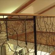 katuse-korteri trepp Tallinnas / Staircase of a penthouse apartment in Tallinn